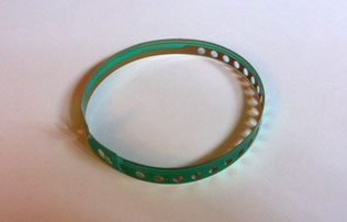 Single-sided FR4 semi-flexible